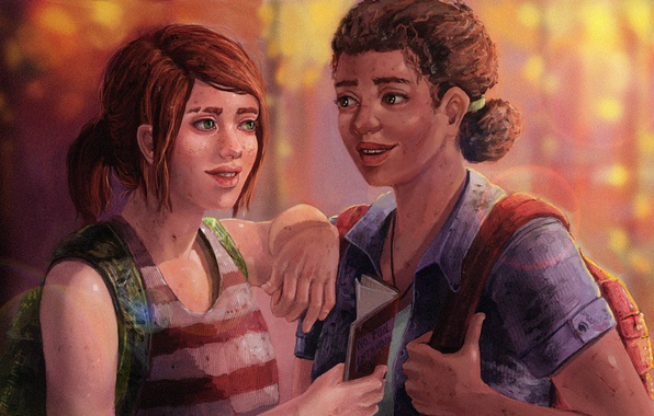Picture Game, Naughty Dog, Ellie, Riley, The Last Of Us Left Behind