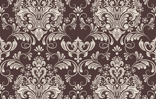 Picture flowers, retro, background, Wallpaper, pattern, texture, vintage