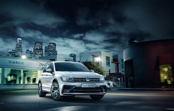 Photo wallpaper Tiguan, Sportline, Volkswagen, Volkswagen, Tiguan