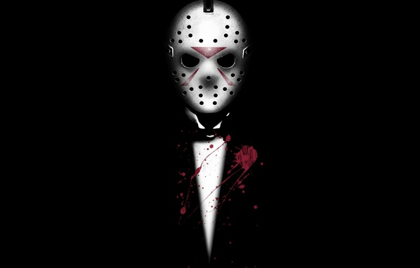 Photo Wallpaper Blood Jason Voorhees Friday The 13th