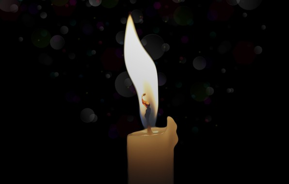 Picture background, flame, candle, light