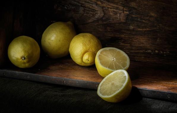 Picture citrus, halves, lemons
