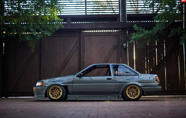 Picture Toyota, AE86, 1986, Corolla, F Zero 2 wheels, AME Wheels
