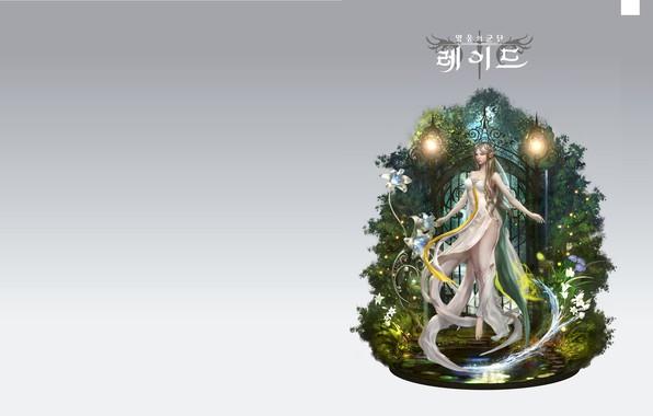 Picture magic, elf, fantasy, art, loved x, 영웅의군단2 G스타 홍보용 일러스트