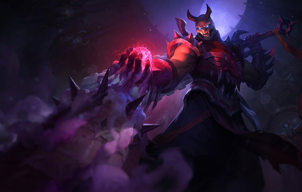 Picture The game, Sword, Weapons, Horns, Game, Shen, League of legends, Weapon, LoL, Sword, Horns, League …
