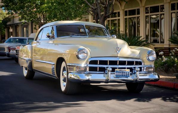 Picture retro, Cadillac, classic, 1949, Series 62