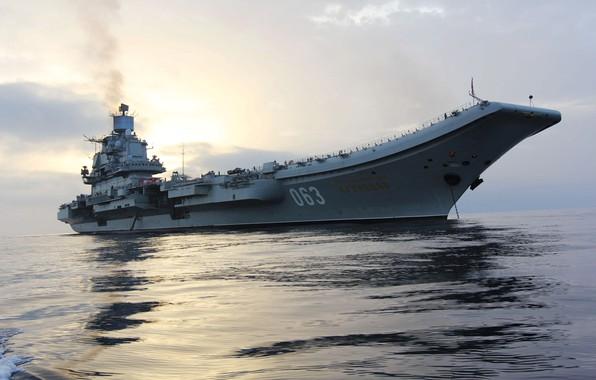 Picture cruiser, Heavy, aircraft carrier, Admiral Kuznetsov