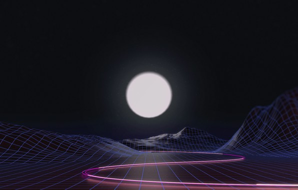 Picture The sun, Music, Neon, Star, Background, Electronic, Synthpop, Darkwave, Synth, Retrowave, Synth-pop, Sinti, Synthwave, Synth …