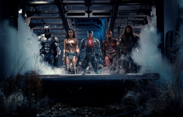 Picture Wonder Woman, Batman, Movie, Cyborg, Flash, Aquaman, Justice League, Justice League