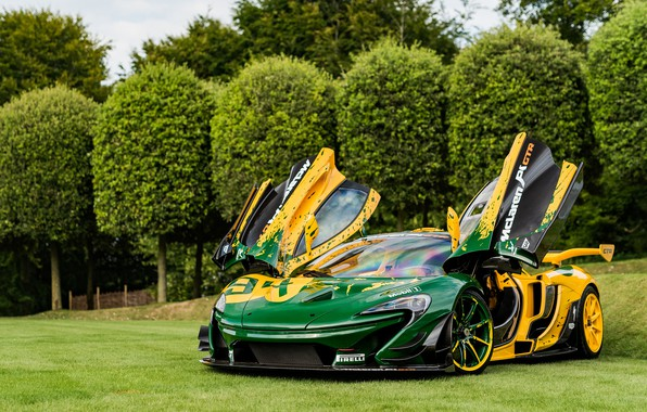Picture hypercar, McLaren P1, McLaren P1 GTR
