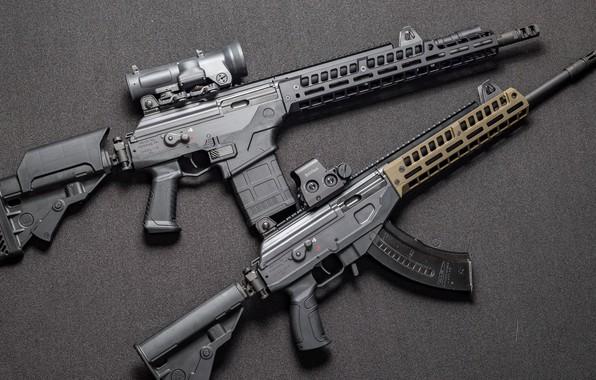 Picture weapons, Machine, Gun, weapon, custom, Custom, Assault rifle, AR-15, Assault Rifle, Galil, Galil, AR-15