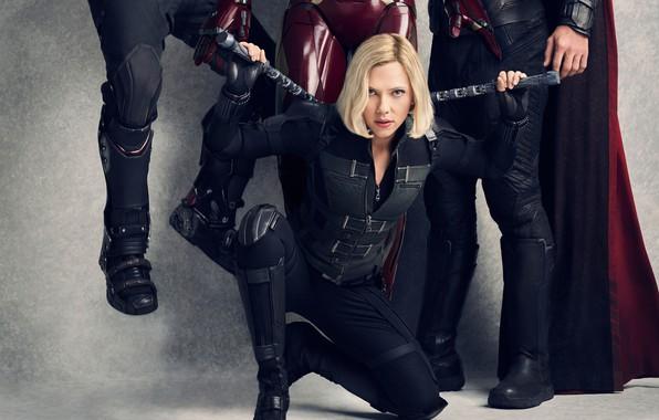 Picture celebrity, movies, blonde, Scarlett Johansson, scarlett johansson, the Avengers: infinity war