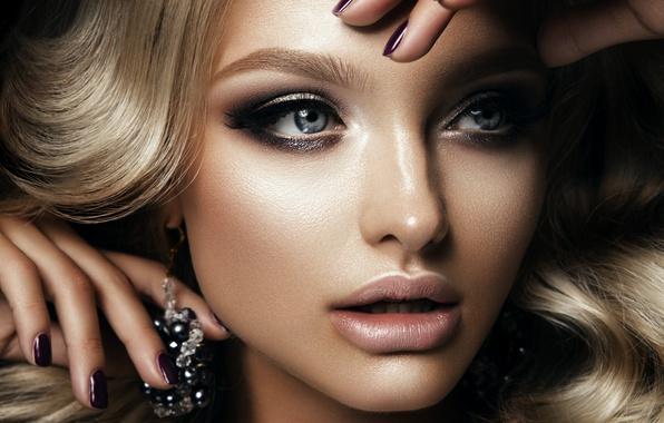 earrings girl hair makeup - photo #45