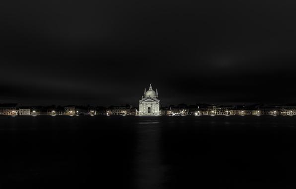 Picture night, the city, Venice