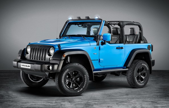 Photo wallpaper Wrangler, Jeep, Rubicon