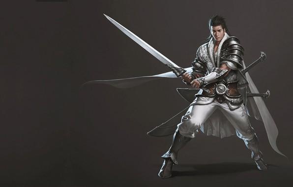 Picture warrior, art, costume design, junggeun yoon, The Oriental Knight