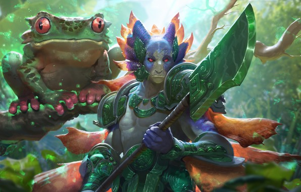 Picture the game, fantasy, art, fragment, wizards of the coast, River Heralds Boon - Magic the …