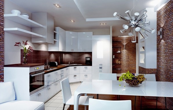Picture style, interior, kitchen, style, interior, dining room, kitchen, dining room