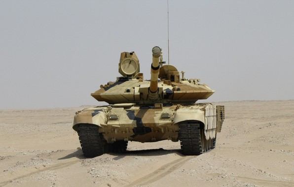 Picture sand, tank, armor, MBT, Breakthrough, T-90 MS, UVZ, Russian weapons