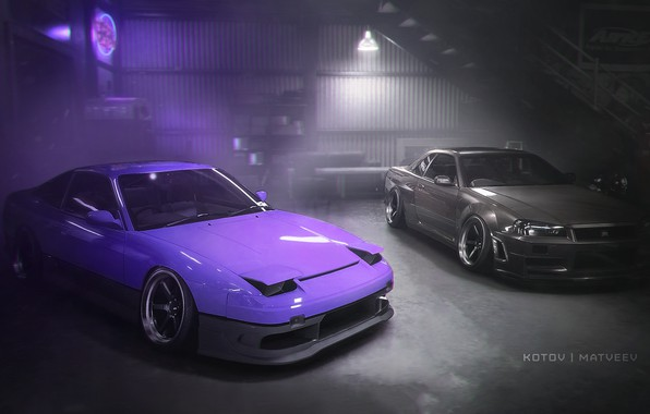 Picture Nissan, Photoshop, 240sx, Skylilne, Need For Speed Payback