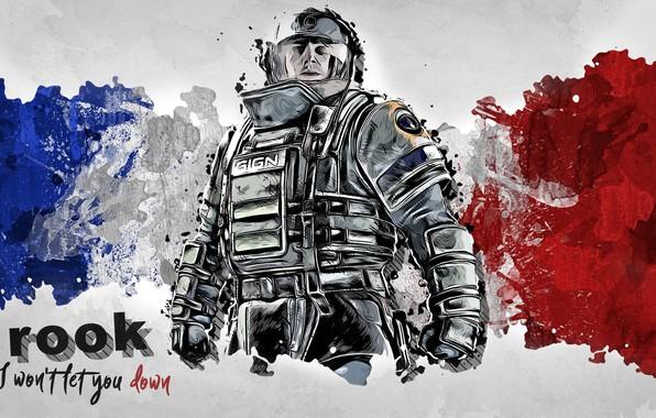 Wallpaper Tom Clancy's Rainbow Six Siege, Ubisoft, Rainbow