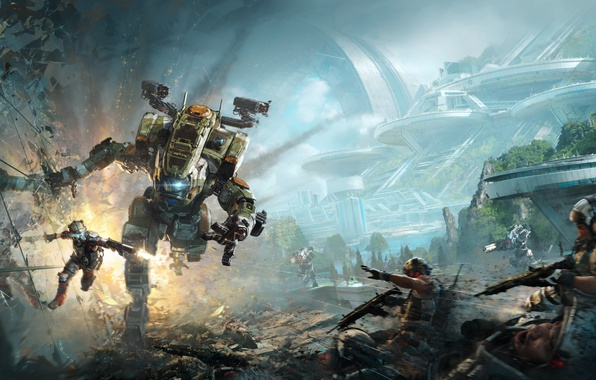 Picture Game, Electronic Arts, Titanfall 2, EA