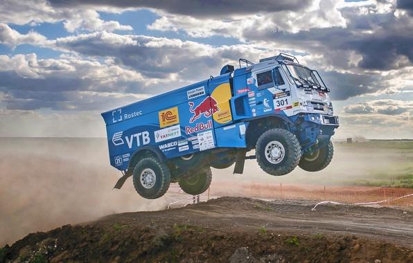 Picture Sport, Speed, Truck, Race, Master, Russia, KAMAZ, KAMAZ, Best, Master, 301, Redbull