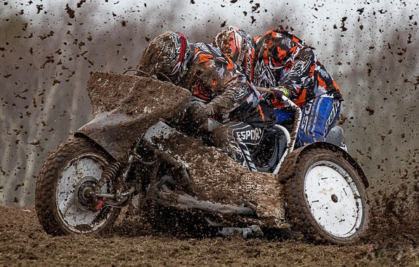 Picture race, dirt, motorcycle