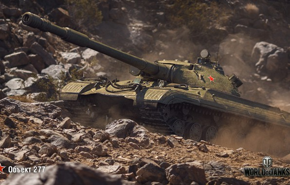 Picture WoT, World of Tanks, Soviet tank, Wargaming, The object 277