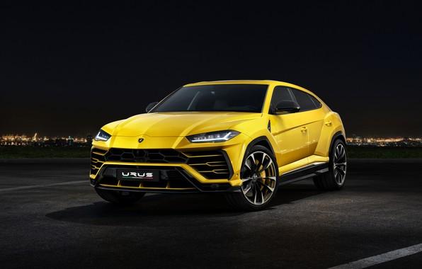 Picture Lamborghini, front view, 2018, Urus