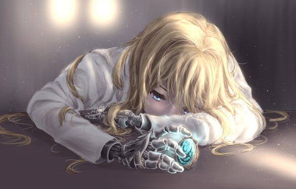 wallpaper girl tears brooch violet evergarden images for desktop