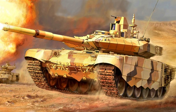 Picture Figure, tank, Russia, combat, T-90MS, Main, Armored forces