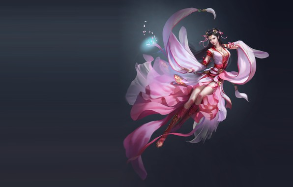 Picture the game, fantasy, art, illustrator, work, Skil, costume design, li miao