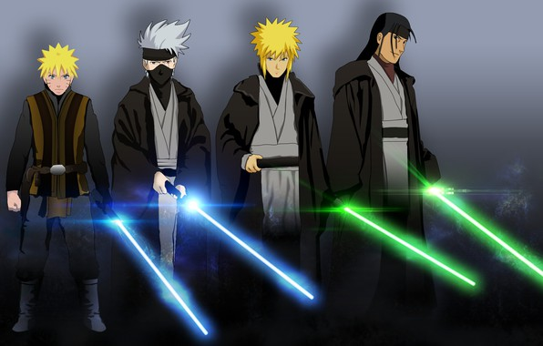 Wallpaper Star Wars Game Naruto Anime Ninja Asian Jedi Manga Shinobi Japanese Naruto Shippuden Oriental Asiatic By Unrealpixel Images For Desktop Section Syonen Download