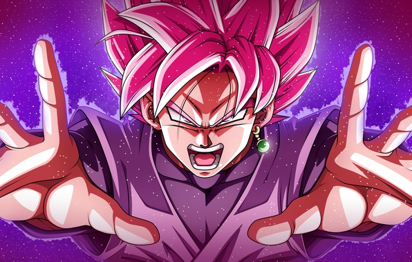 Picture DBS, game, Black, anime, power, man, assasin, asian, hands, warrior, manga, japanese, Son Goku, oriental, …
