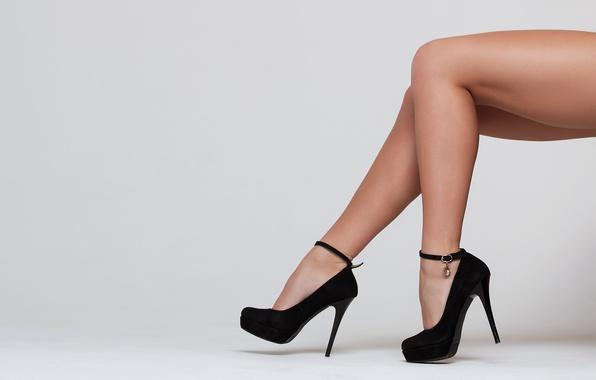 Picture black, legs, heels