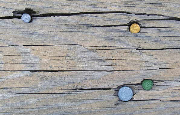 Picture tree, Board, nails, grunge, grunge, loft