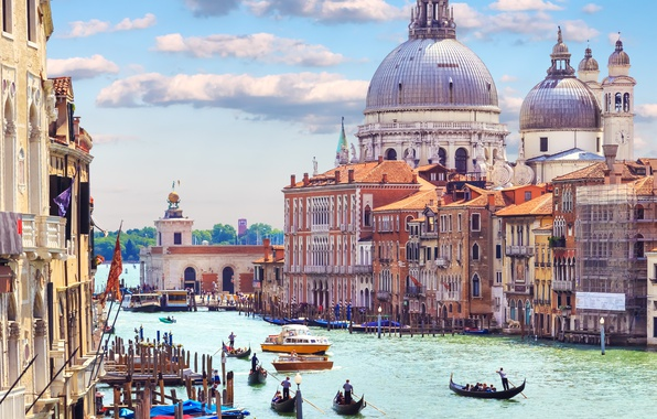 Picture city, the city, Italy, Venice, channel, Italy, panorama, gondola, Europe, view, Venice, cityscape, travel, canal, …