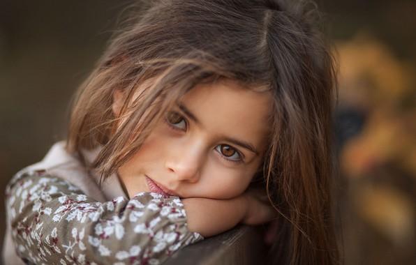 Picture look, face, portrait, girl, Salih Gokduman