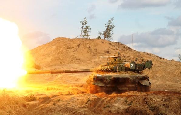 Picture shot, T-72, main, battle tank