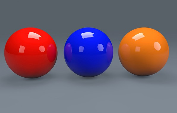 Picture paint, ball, the volume