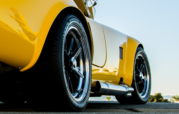 Picture Shelby, 1965, Cobra, Yellow