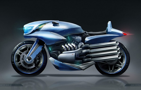 Picture design, motorcycle, concept motor bike 01, Juan Novelletto