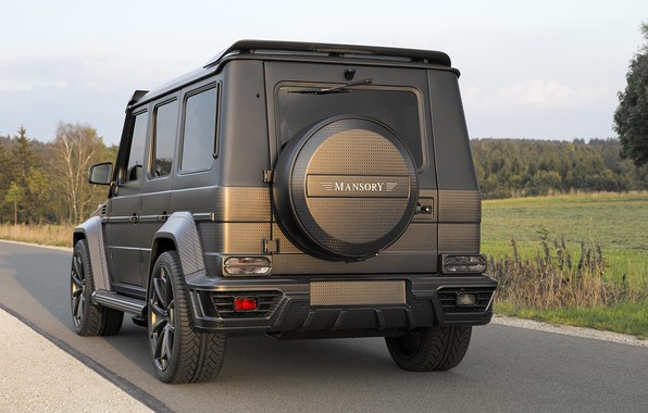 Picture Mercedes, Carbon, Carbon, Tuning, Mansory, Gaelic, Black Edition, G, G-class, Gelendwagen