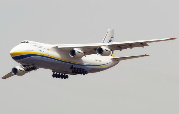 Picture The plane, Wings, Engines, Ukraine, Soviet, An-124, Ruslan, Antonov, Huge, 400, Flies, Antonov, Condor, Condor, …