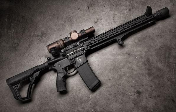 Picture weapons, optics, assault rifle, Daniel Defense, DDM4