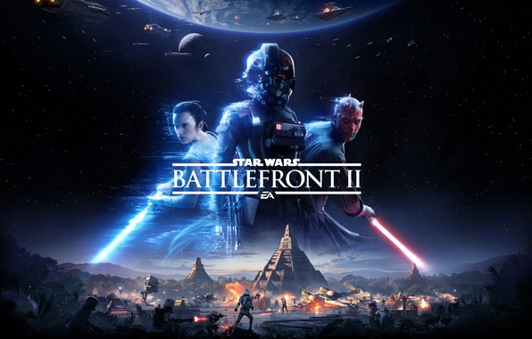 Picture Star Wars, Game, Electronic Arts, 2017, EA, Star Wars: Battlefront II, Thevideogamegallery.com