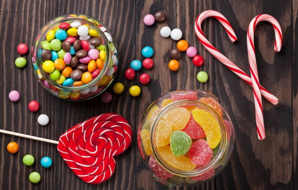 Picture colorful, candy, sweets, lollipops, sweet, marmalade, candy, lollipop, jelly