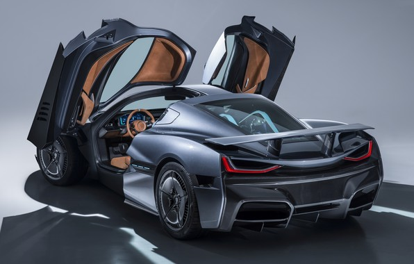 Picture grey, Rimac, Rimac C-Two (2018), C-Two
