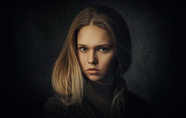 Picture portrait, girl, brown-eyed, Natural Light Portrait, Zubair Aslam, Look of Marie